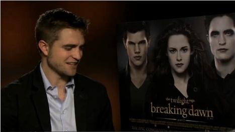 FilmBeat TV: Interview with Robert Pattinson | The Twilight Saga: Breaking Dawn - Part 2 (London Press Junket) | Robert Pattinson Daily News, Photo, Video & Fan Art | Scoop.it