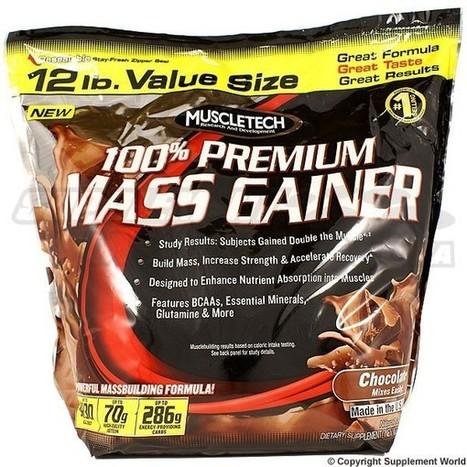 MuscleTech 100 % Premium Mass Gainer | Nutrition Supplements | Scoop.it