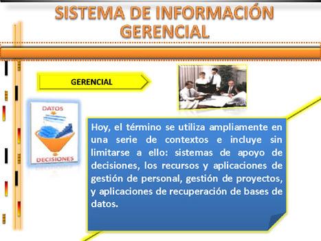SISTEMAS DE INFORMACIÓN: SISTEMAS DE INFORMACIÓN GERENCIAL | MSI | Scoop.it