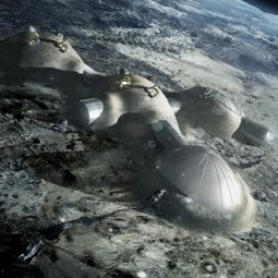 Foster + Partners to 3D print buildings on the moon | The Architecture of the City | Scoop.it