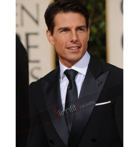 Tom Cruise Black Tuxedo Suit | Never Seen Before - Exclusive Collection | Scoop.it