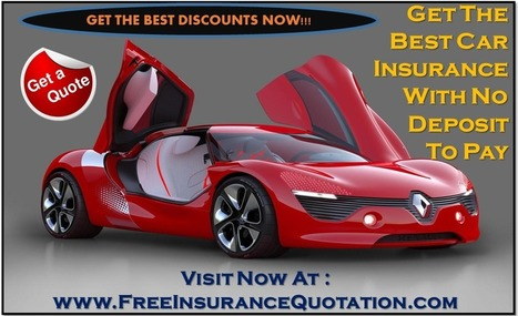 Cheap No Deposit Car Insurance Policy - Low Deposit - Zero Deposit – No Money Down – Quote: How To Get No Deposit Car Insurance Quotes With Best Online Services | Free Insurance Quotation | Scoop.it