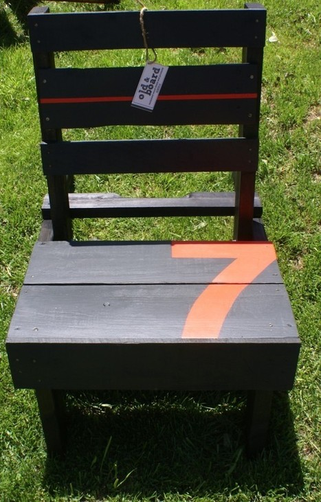 Graphic Recycled Garden Furniture | Miss Rumphius' Rules | Home Garden Furnitures | Scoop.it