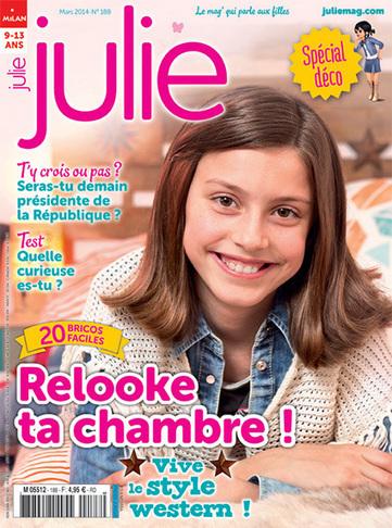 Julie n°188 - mars 2014 | Revue de presse du CDI du Collège Langevin d'Hennebont | Scoop.it