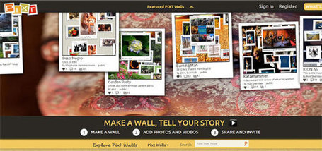 Make a Wall and Tell a Story with Pixt.com | ENT | Scoop.it