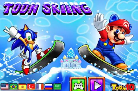 Toon Skiing | cartoon mini | Scoop.it