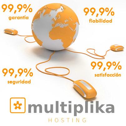MULTIPLIKA - Hosting 99,9% de fiabilidad, seguridad, garantía y satisfacción  - registro de dominios | estudio5 | Scoop.it