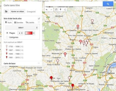 Cartographie Généalogique avec Google Maps Engine Lite | genBECLE.org | L'écho d'antan | Scoop.it