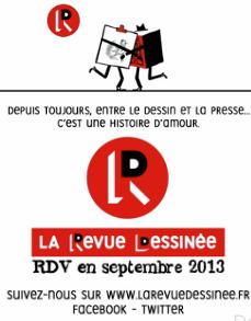 La Revue Dessinée: l'actualité bientôt en bandes dessinées | DocPresseESJ | Scoop.it