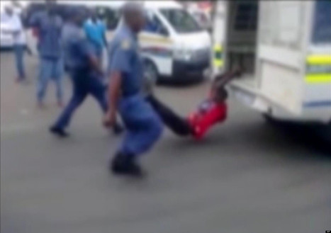 Man Dragged Behind Car By Police (GRAPHIC VIDEO) | SocialAction2015 | Scoop.it