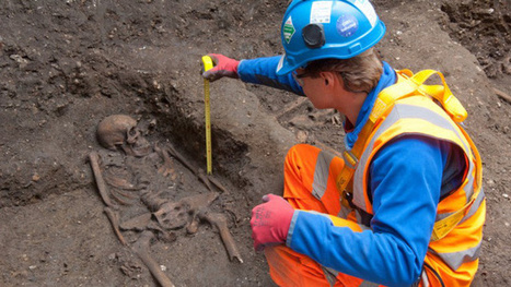 50,000 bubonic plague victims may still be buried beneath London's ... | Black Death Impacts | Scoop.it