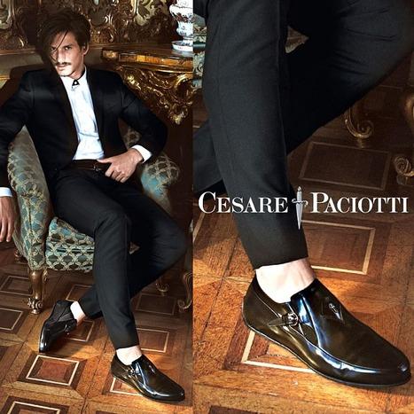 Jarrod Scott Poses for Stefano Galuzzi for Cesare Paciotti Fall/Winter 2013 Campaign   Le Marche & Fashion   Scoop.it