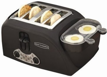 TEM4500 4-Slot Egg-and-Muffin Toaster | BREAKFAST TOASTER | Gadgets and Gadgets | Scoop.it
