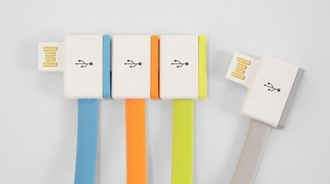 New recursive USB cables provide infinite number of ports | Gadgets | Geek.com | Technology and Gadgets | Scoop.it