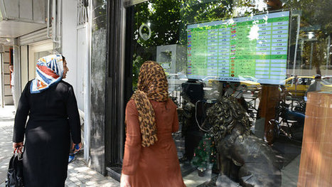 Iran Staggers as Sanctions Hit Economy | Comparative Government and Politics | Scoop.it