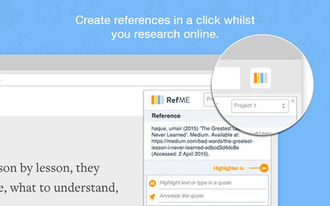 RefME WebClipper | Educacion, ecologia y TIC | Scoop.it