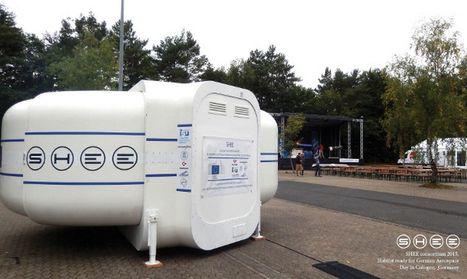 SHEE : un prototype d'habitat autonome pour les astronautes | D'Dline 2020, vecteur du bâtiment durable | Scoop.it