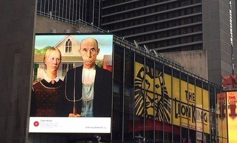 World Arts | Art News | US billboards to display interactive paintings to teach you art history | Navigate | Scoop.it