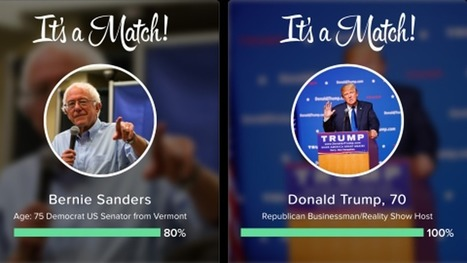 Tinder wants to help you figure out who to vote for | iPhones and iThings | Scoop.it