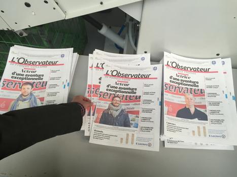 La première imprimerie au monde qui personnalise les journaux est lancée... dans le Nord | Communicare | Scoop.it
