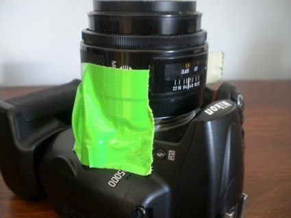 Nikolta - A Minolta / Nikon Duct Tape & A Coffee Mixer Hybrid | Photography Gear News | Scoop.it
