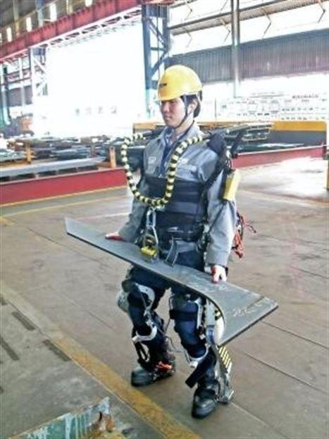 Trabajadores obtienen superfuerza con un traje robótico - Europa Press | Ingenieros Civiles | Scoop.it