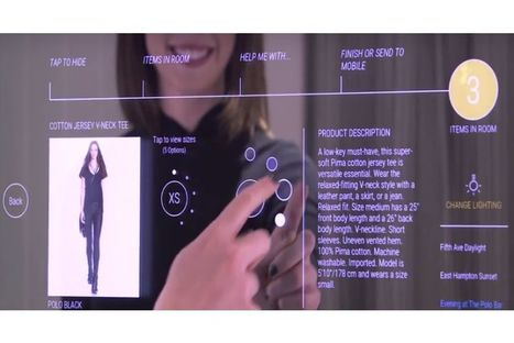 Ralph Lauren : comment les miroirs intelligents aident les clients et les vendeurs en magasin | Nouveaux concepts magasins | Scoop.it