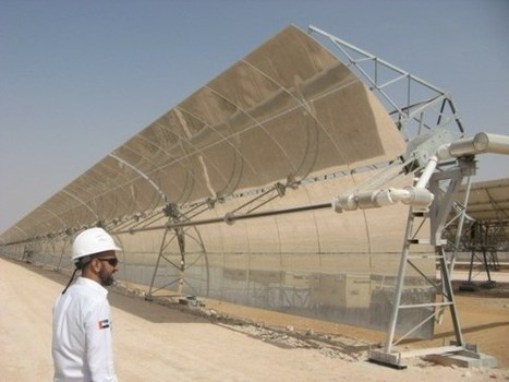 Largest Single-Unit Concentrated Solar Power Plant In World — Shams 1 (CT Exclusive) | Sustain Our Earth | Scoop.it