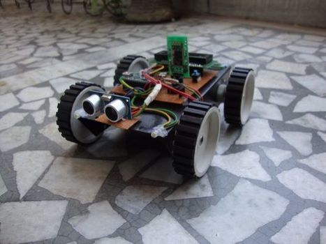 Laptop Controlled Robot v2.0 | Open Source Hardware News | Scoop.it