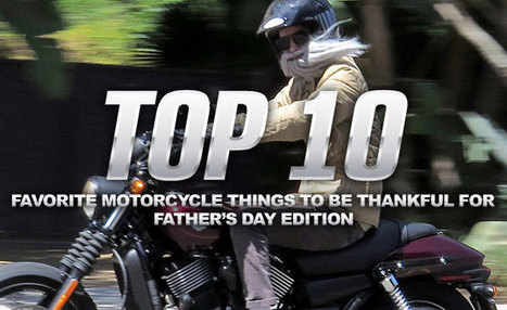 Top 10 Favorite Motorcycle Things to be Thankful For | Motorcycle Riding | Scoop.it