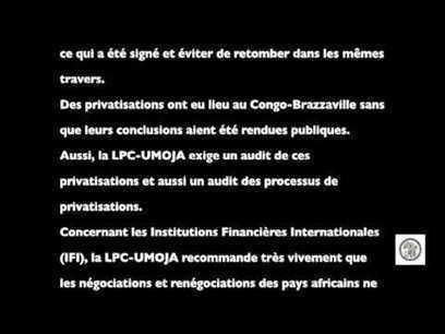 Vidéo de la Conférence de presse de la Ligue Panafricaine du Congo – UMOJA   Actions Panafricaines   Scoop.it