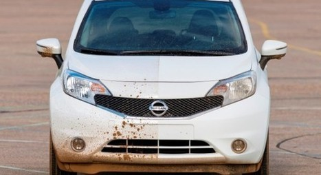 RIP car wash. Hello Nissan self cleaning car! | Gadget Tech | Scoop.it