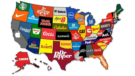 What the Most Famous Brands Are from Each State | AP HUMAN GEOGRAPHY DIGITAL  TEXTBOOK: MIKE BUSARELLO | Scoop.it
