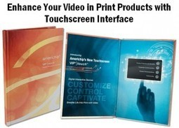 Americhip Adds Virtual Touchscreen to Any Paper or Book | Print Collateral | Scoop.it