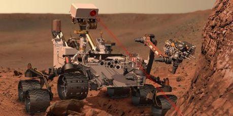"Mars, nouvel objet de ""Curiosity"" | Mars en août | Scoop.it"