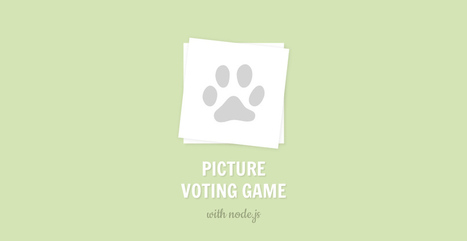 Make a Picture Voting Game with Node.js (Part 1) | Tutorialzine | php | Scoop.it