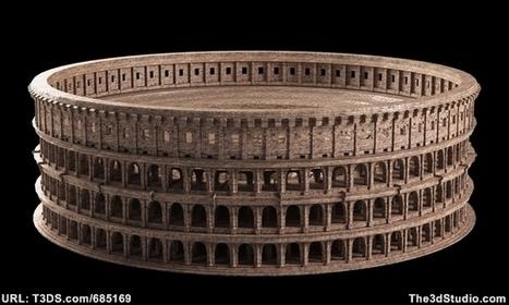 3D Models - Roman Colosseum   3d artist   Scoop.it