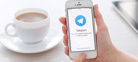 Telegram se posiciona en el campo de las comunicaciones laborales | About marketing concepts | Scoop.it