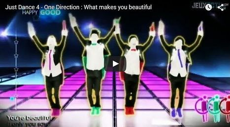 Just Dance 4 - One Direction What makes you beautiful - All Site Café | cool sites | fun sites | entertainment | play computer games | Scoop.it