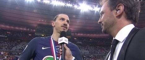 L'interview (gênante) de Zlatan Ibrahimovic après le match | Crise de com' | Scoop.it