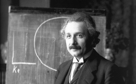 """Albert Einstein Tells His Son The Key to Learning & Happiness is Losing Yourself in Creativity (or """"Finding Flow"""") 