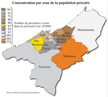 Qui sont les pauvres de Casablanca - Leconomiste.com | AMH | Plaidoyer | Scoop.it