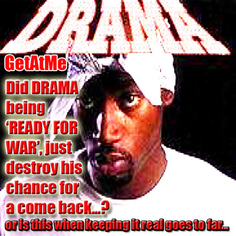 GetAtMe DRAMA (the real father of KRUNK/TRAP MUSIC) threatens to blow up Lenox Square Law office... #LetsGoToWar | GetAtMe | Scoop.it