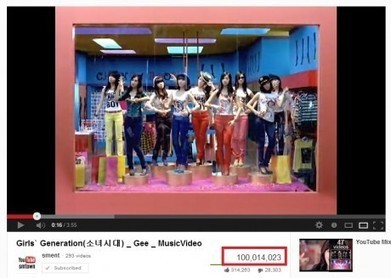 Girls' Generation's GEE MV joins the 100 million Youtube views club! | earn fast likes on facebook pages | Scoop.it