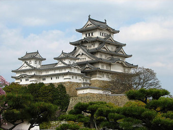 Le château blanc d'Himeji ; Japon | The Blog's Revue by OlivierSC | Scoop.it