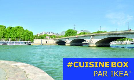 IKEA invite à préparer et partager un repas dans une cuisine avec vue imprenable sur Paris | Id marketing cuisine | Scoop.it
