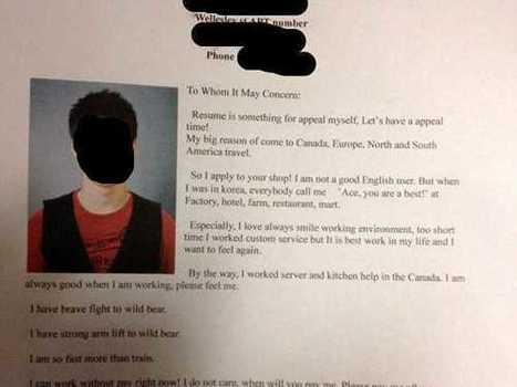 This ESL Cover Letter Is Going Viral - Business Insider | Business English Apps | Scoop.it