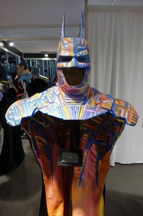 Batman customisé par Tarek au Comiccon de Paris | The art of Tarek | Scoop.it