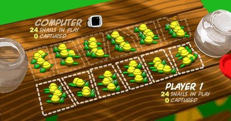 Mancala Snails | Jogos Educativos | Scoop.it