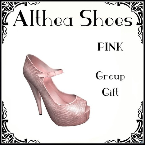 Althea Shoes Group Gift by Belle Epoque | Teleport Hub - Second Life Freebies | Second Life Freebies | Scoop.it